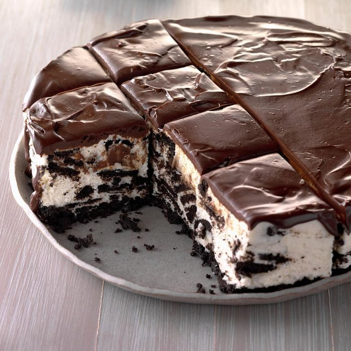Icebox Cookie Cheesecake