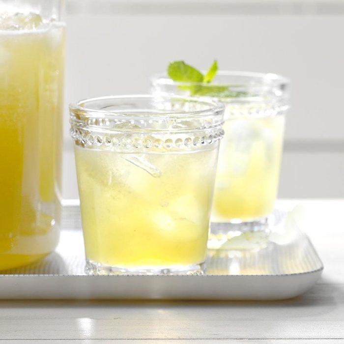 Iced Honeydew Mint Tea