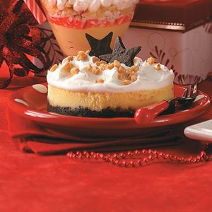 Individual Toffee Dream Cheesecakes
