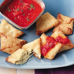 Italian Cheese Wontons