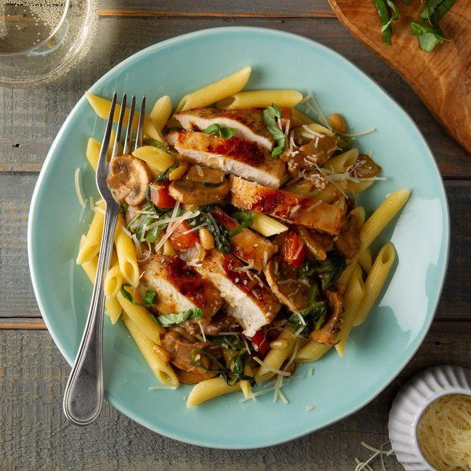 Italian Chicken Skillet Supper Exps Ft20 39612 F 0207 1