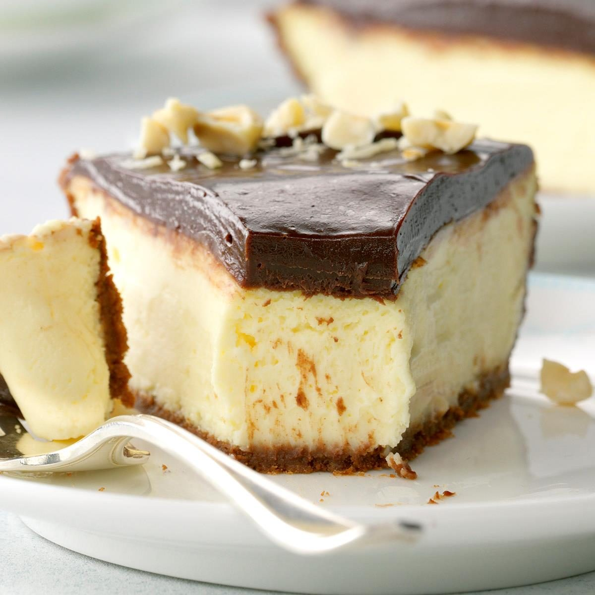 Italy: Chocolate-Hazelnut Cheesecake Pie