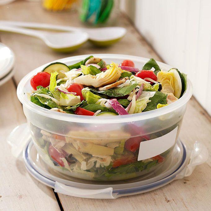 Italian Fresh Vegetable Salad