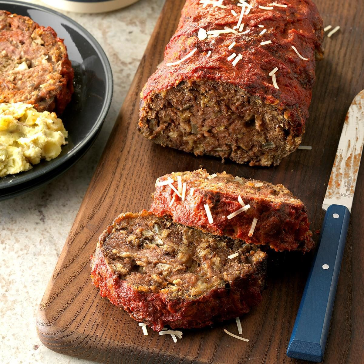 Day 10: Italian Mushroom Meat Loaf