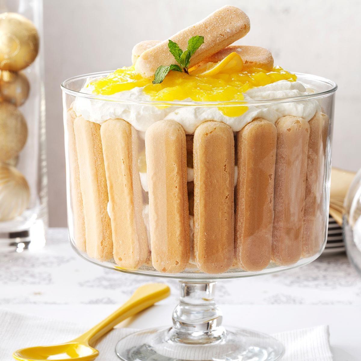 Italian Pineapple Trifle