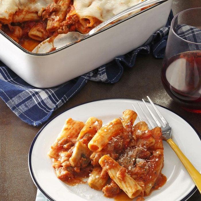 Italian Sausage Rigatoni Bake Exps176885 Fm143298c03 14 2bc  Rms