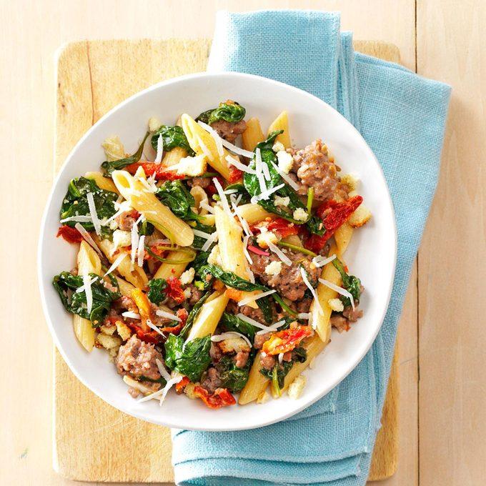 Italian Sausage Sun Dried Tomato Pasta Exps167253 Cw132791b04 23 3bc Rms