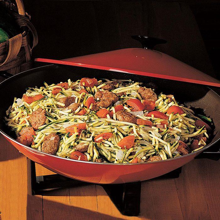 Italian Sausage and Zucchini Stir-Fry