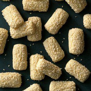 Italian Sesame Cookies