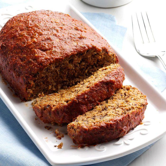 Italian Turkey Meat Loaf