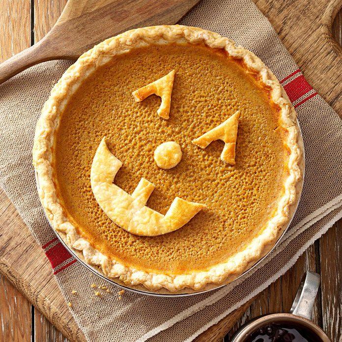 Jack-o'-Lantern Pie