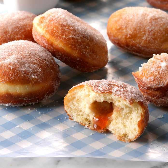 Inspired by: Dunkin Donut's Jelly Donut