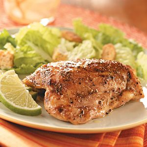 Key Lime Chicken Thighs
