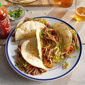 Korean Pulled Pork Tacos