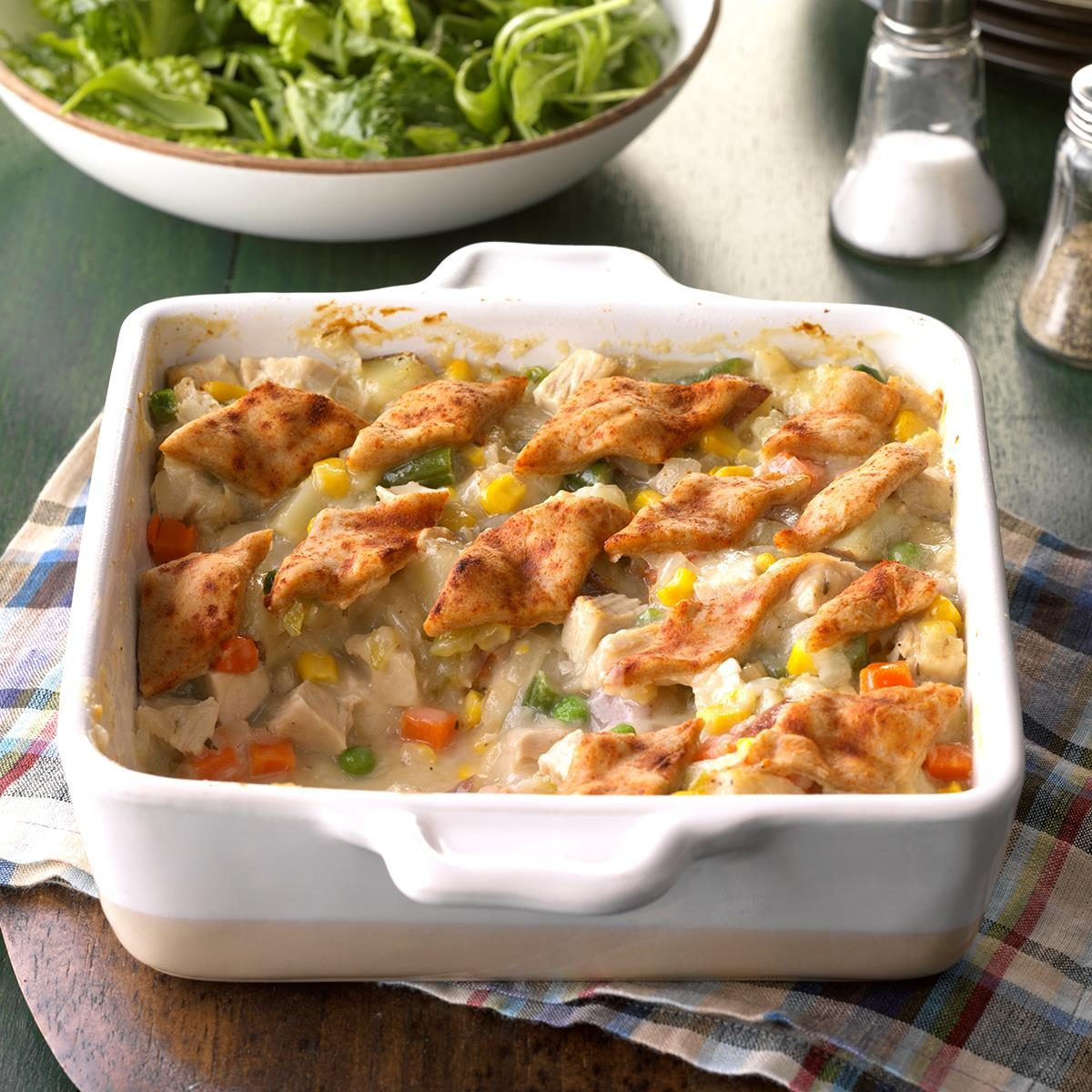 Day 30: Pastry-Topped Turkey Casserole
