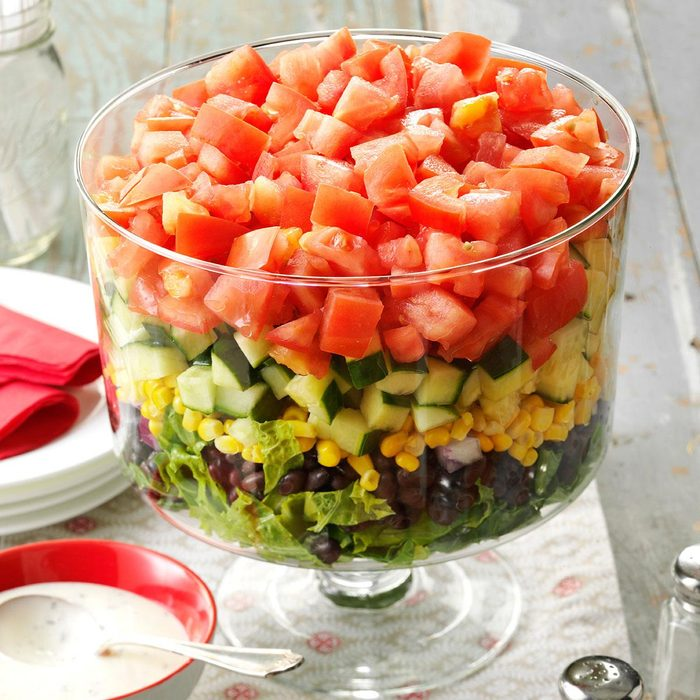 Layered Garden Bean Salad Exps165754 Hck143243d09 17 5b1 Rms
