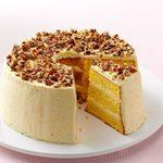 Layered Orange Sponge Cake