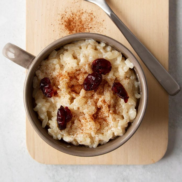 Leftover Rice Pudding