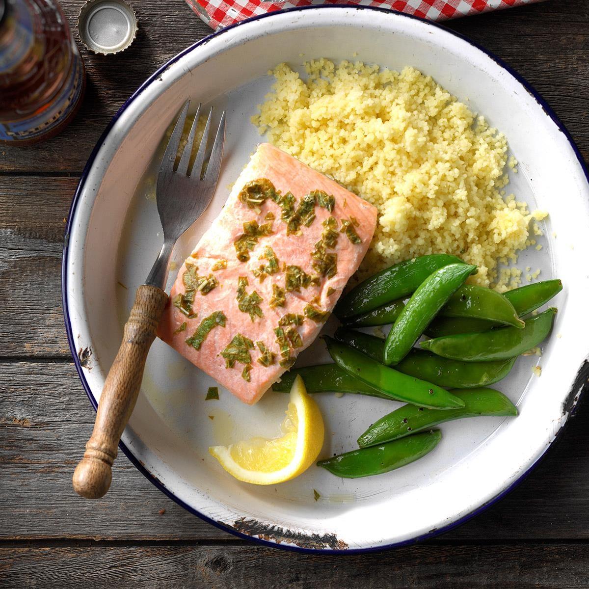 Friday: Lemon Basil Salmon