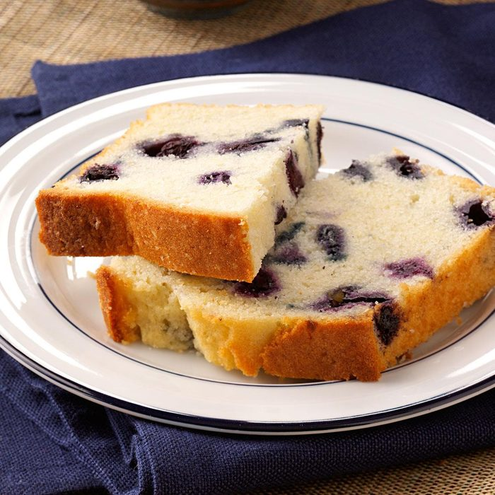 Lemon-Blueberry Tea Bread