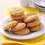 Lemon Crisp Cookies