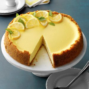 Lemon Dream Cheesecake