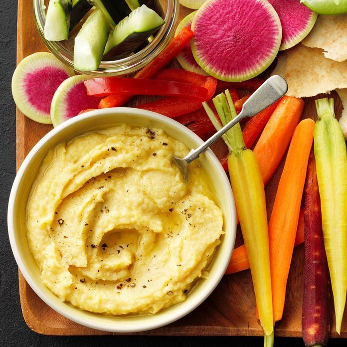 Lemon-Garlic Hummus
