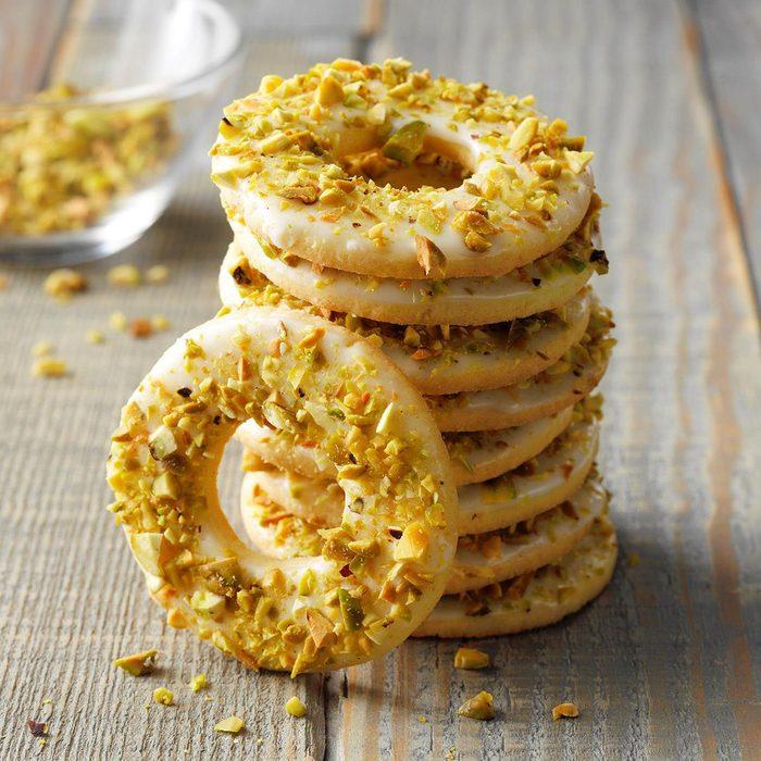 Lemon Pistachio Wreaths