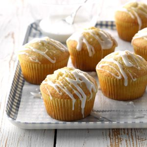 Lemon Pound Cake Muffins