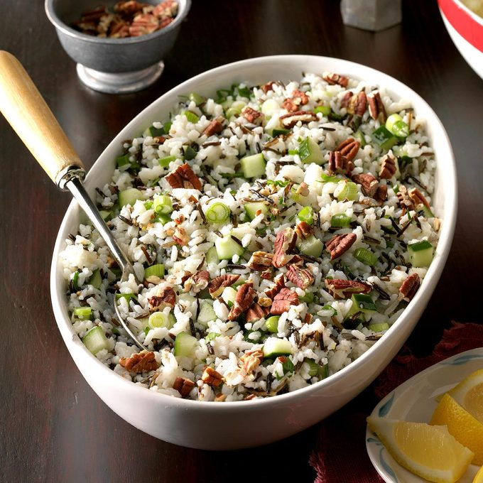Lemon Rice Salad
