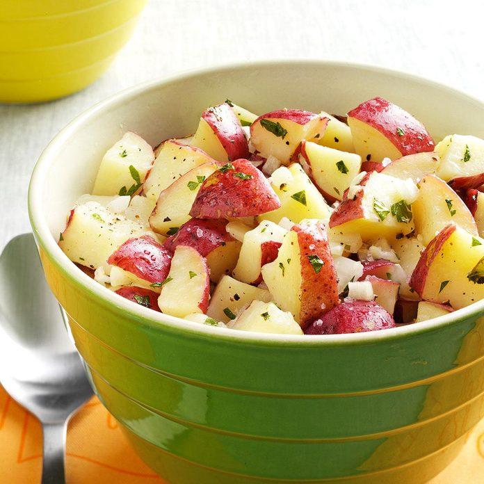 Lemon Vinaigrette Potato Salad