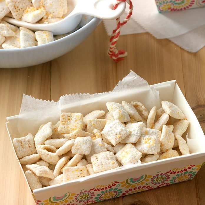 Lemony Snack Mix