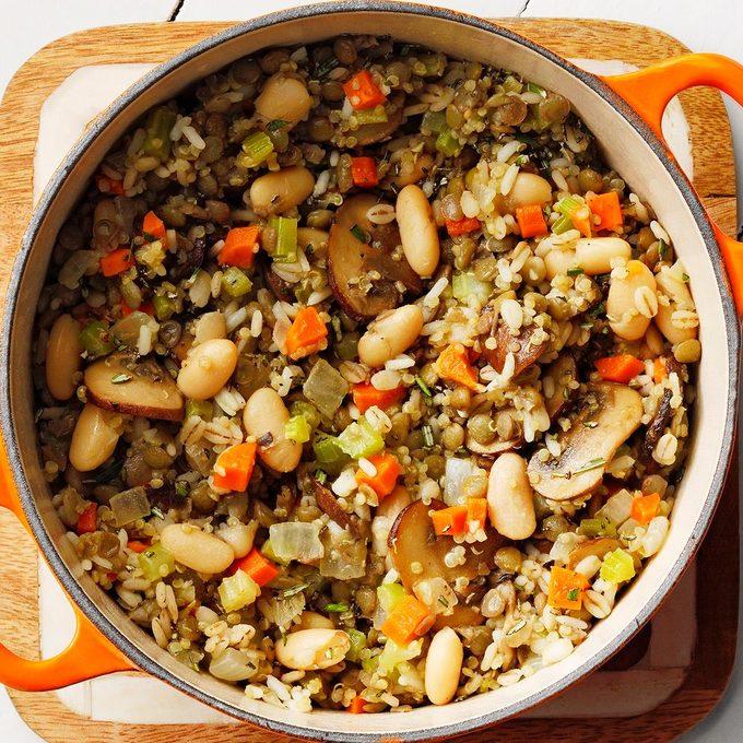 Lentil White Bean Pilaf Exps Dobz21 70964 E08 19 4b