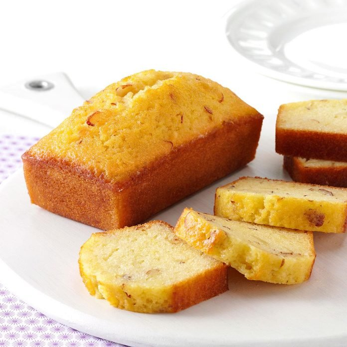 Little Amaretto Loaf Cakes