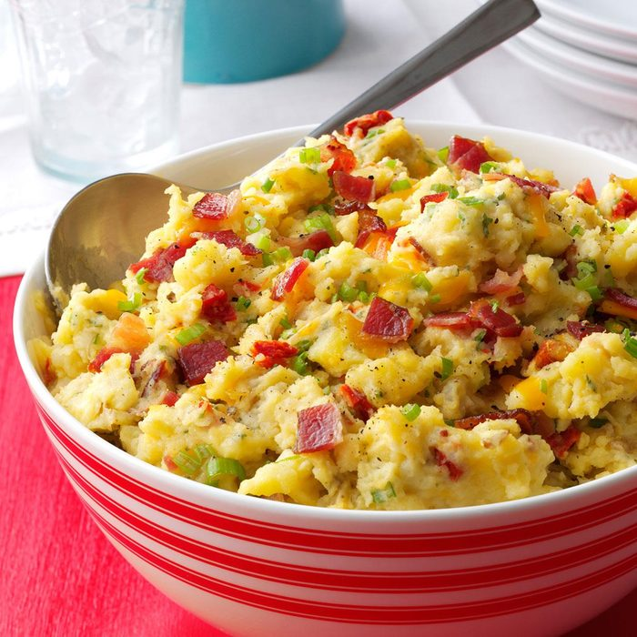 Loaded Smashed Taters