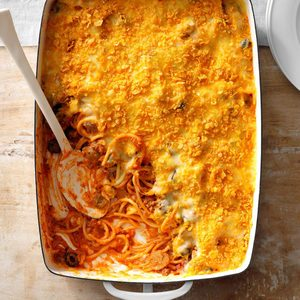 Loaded Spaghetti Bake