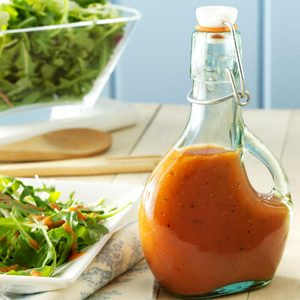 Low-Fat Tangy Tomato Dressing