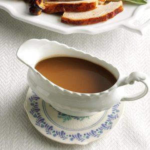 Make-Ahead Maple & Sage Gravy