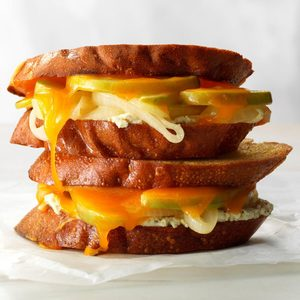 Makeover Deluxe Grilled Cheese