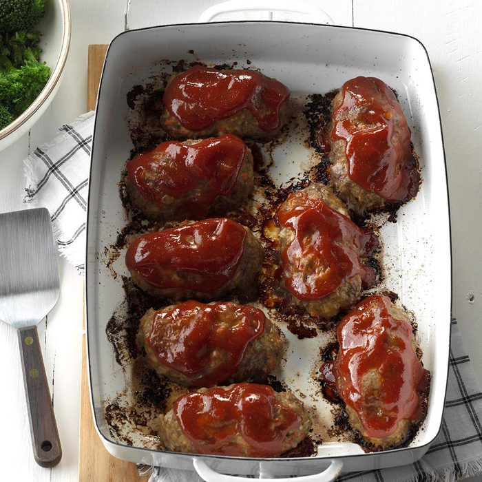 Makeover Li'l Cheddar Meat Loaves