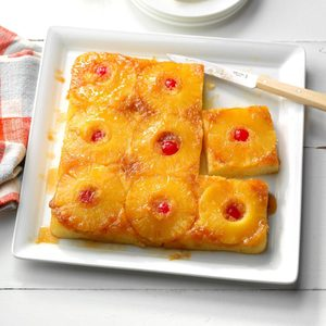 Makeover Pineapple Upside-Down Cake