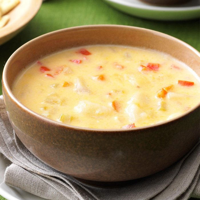 Makeover Potato Cheese Soup