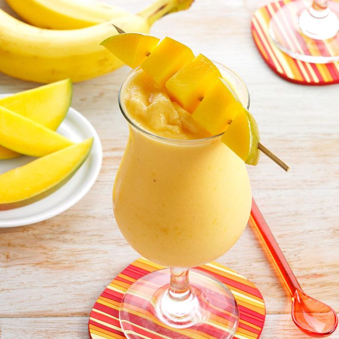 Inspired by: Starbucks' Orange Mango Smoothie