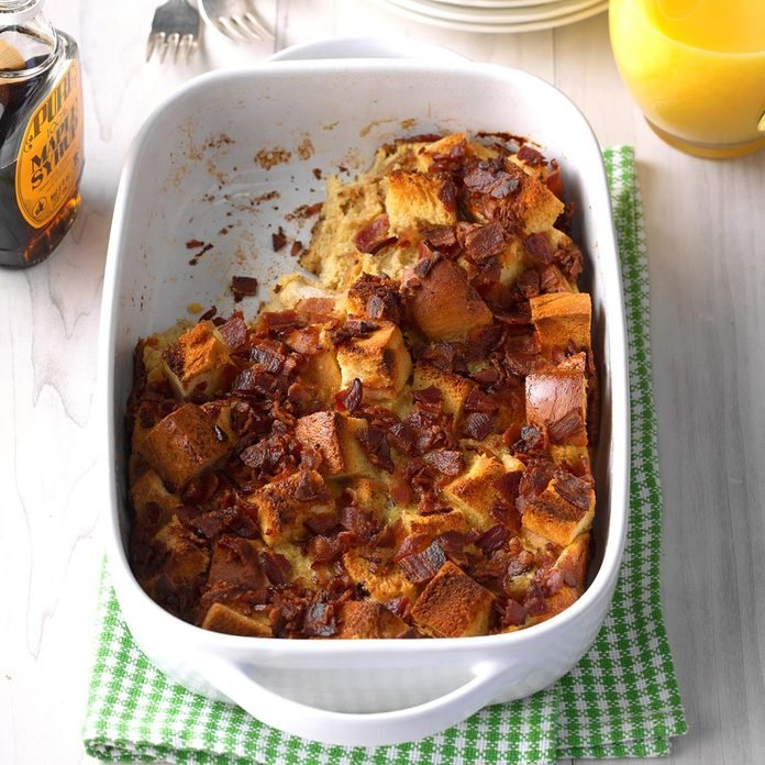 Maple Bacon French Toast Bake