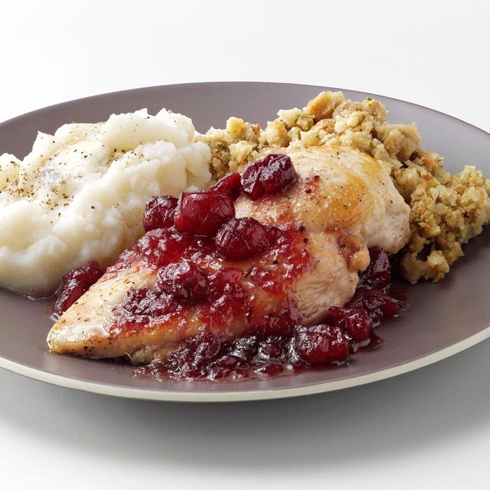 Maple Cranberry Chicken