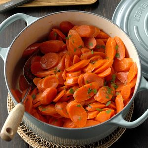 Maple-Ginger Glazed Carrots