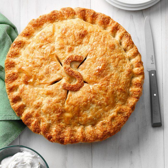 Maple-Glazed Apple Pie