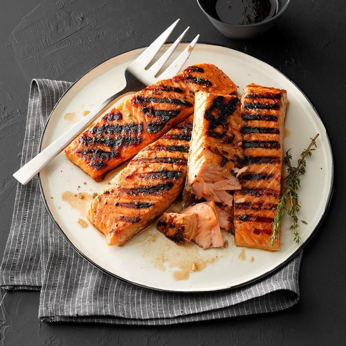 Day 15: Maple-Glazed Salmon
