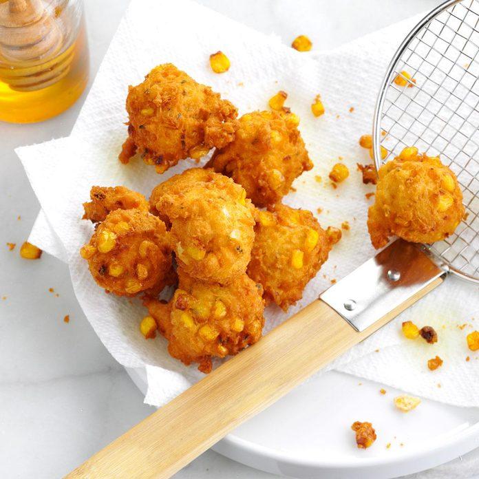 Marina's Golden Corn Fritters