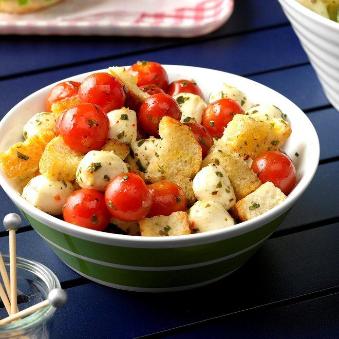 Marinated Mozzarella & Tomato Appetizers